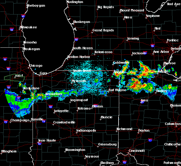 Radar Image for Severe Thunderstorms near Holgate, OH at 6/10/2015 11:15 PM EDT