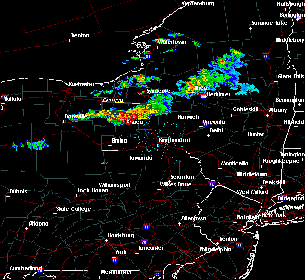 Radar Image for Severe Thunderstorms near Cortland West, NY at 6/10/2015 11:30 PM EDT