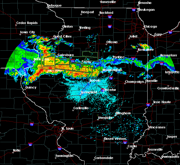 Radar Image for Severe Thunderstorms near Canton, IL at 6/10/2015 10:54 PM CDT
