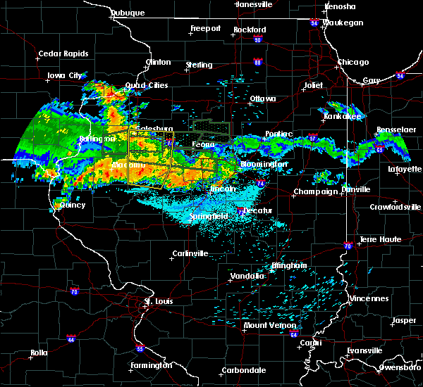 Radar Image for Severe Thunderstorms near Dunfermline, IL at 6/10/2015 11:16 PM CDT