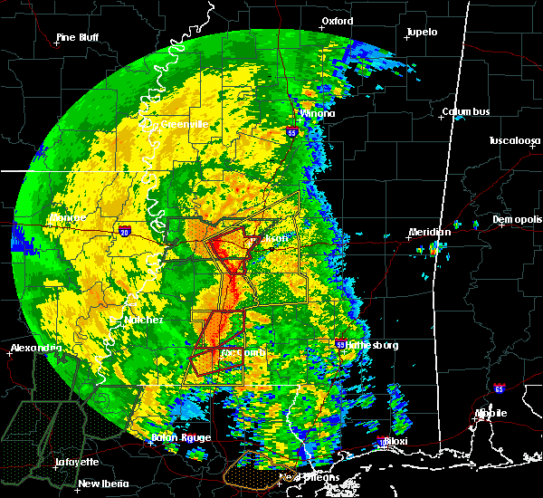 Radar Image for Severe Thunderstorms near Flowood, MS at 4/18/2019 2:29 PM CDT