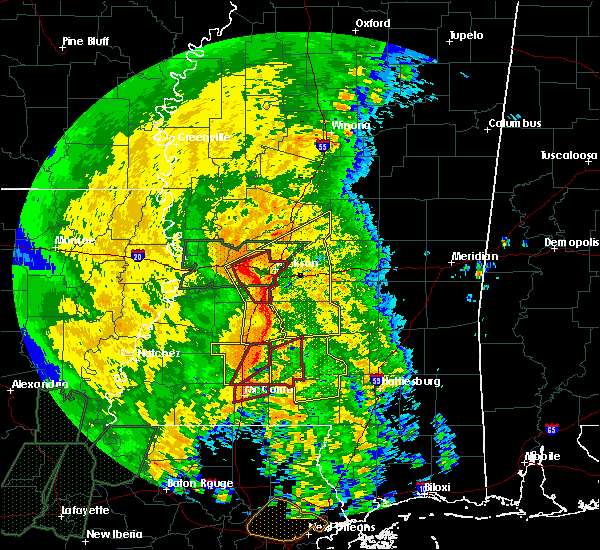 Radar Image for Severe Thunderstorms near Flowood, MS at 4/18/2019 2:38 PM CDT
