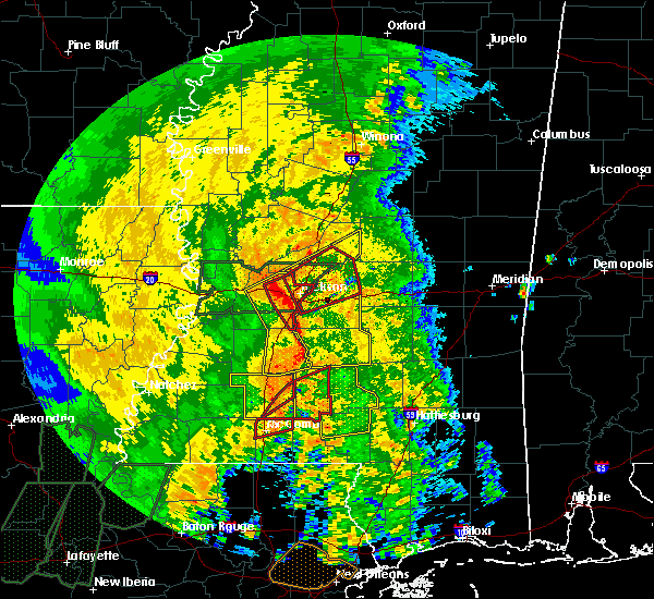 Radar Image for Severe Thunderstorms near Cleary, MS at 4/18/2019 2:41 PM CDT