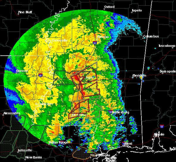 Radar Image for Severe Thunderstorms near Polkville, MS at 4/18/2019 2:45 PM CDT