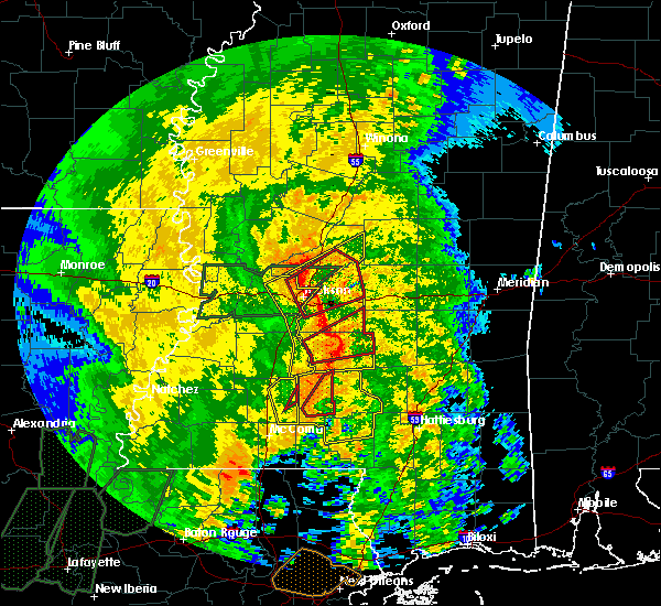 Radar Image for Severe Thunderstorms near Cleary, MS at 4/18/2019 3:00 PM CDT