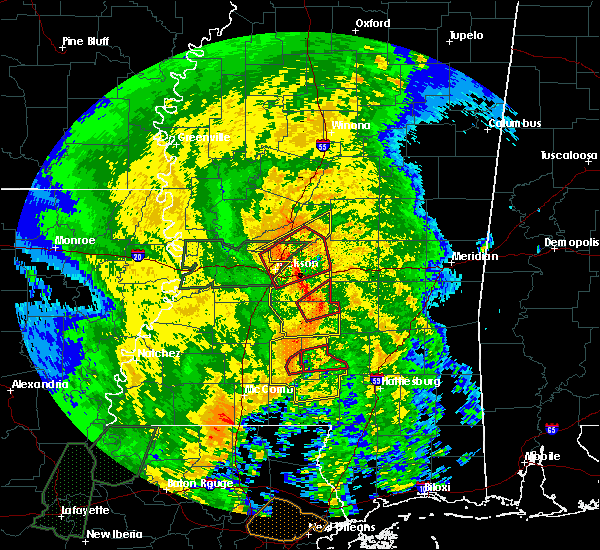 Radar Image for Severe Thunderstorms near Bay Springs, MS at 4/18/2019 3:10 PM CDT