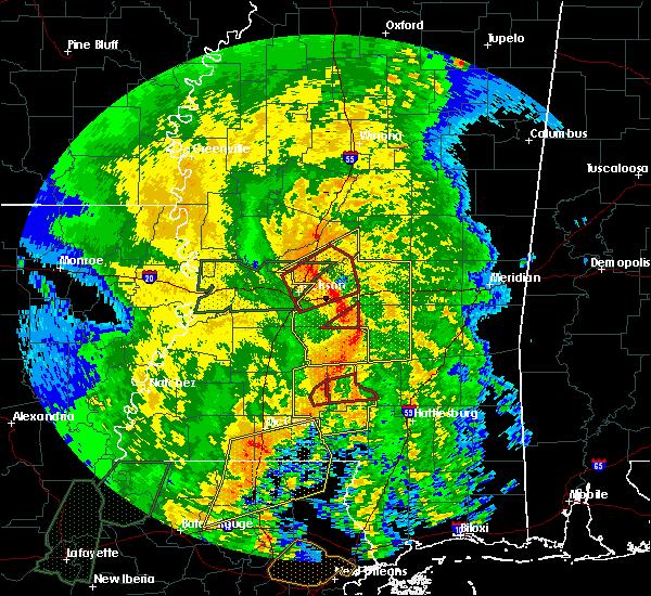 Radar Image for Severe Thunderstorms near Polkville, MS at 4/18/2019 3:13 PM CDT