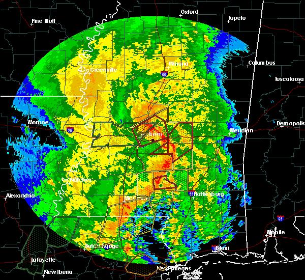 Radar Image for Severe Thunderstorms near Polkville, MS at 4/18/2019 3:25 PM CDT