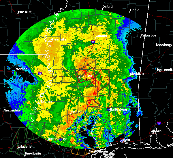 Radar Image for Severe Thunderstorms near Flowood, MS at 4/18/2019 3:25 PM CDT
