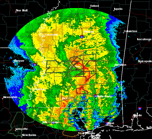 Radar Image for Severe Thunderstorms near Bay Springs, MS at 4/18/2019 3:29 PM CDT