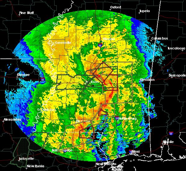 Radar Image for Severe Thunderstorms near Polkville, MS at 4/18/2019 3:38 PM CDT