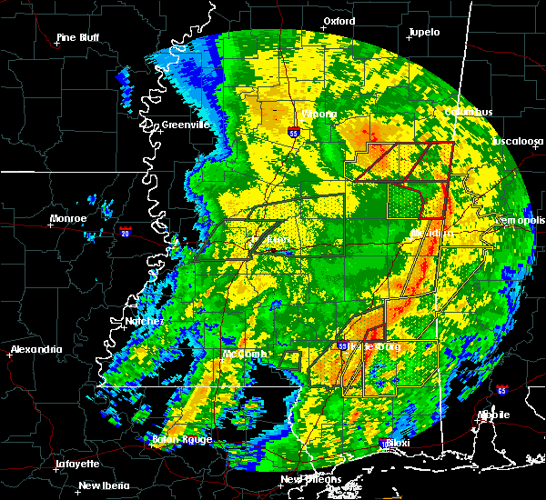 Radar Image for Severe Thunderstorms near Lauderdale, MS at 4/18/2019 5:09 PM CDT