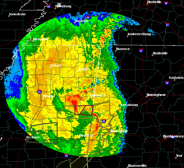 Radar Image for Severe Thunderstorms near Pickensville, AL at 4/18/2019 5:25 PM CDT