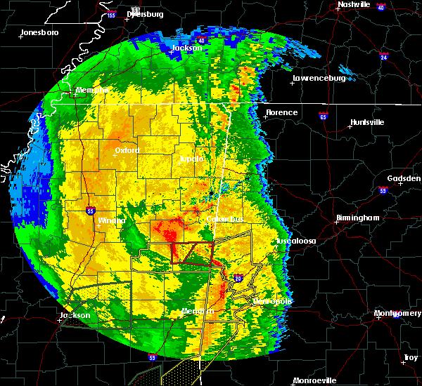 Radar Image for Severe Thunderstorms near Pickensville, AL at 4/18/2019 5:28 PM CDT