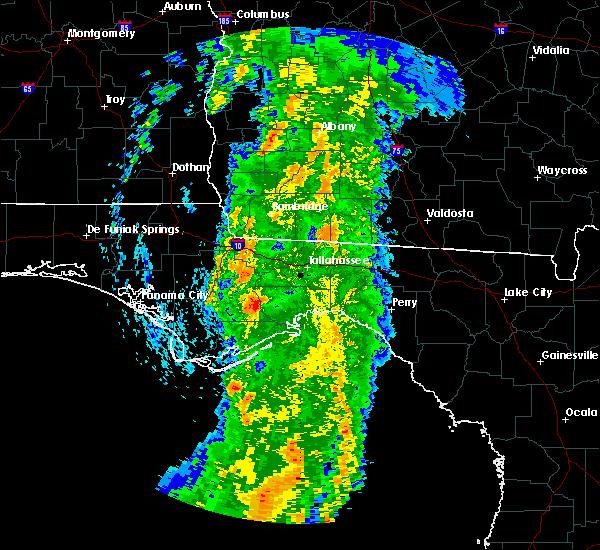 Radar Image for Severe Thunderstorms near Pelham, GA at 4/19/2019 8:28 AM EDT