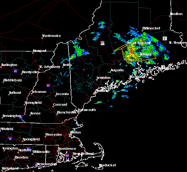 Radar Image for Severe Thunderstorms near Milo, ME at 6/11/2015 4:38 AM EDT