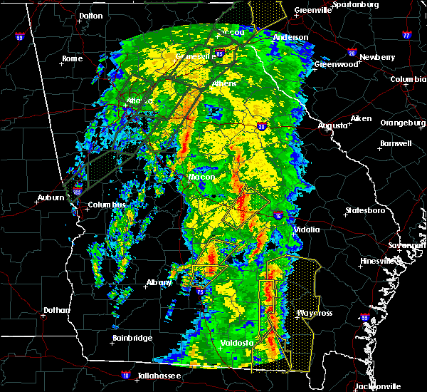 Radar Image for Severe Thunderstorms near Rhine, GA at 4/19/2019 10:43 AM EDT