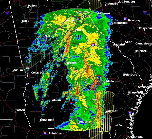 Radar Image for Severe Thunderstorms near Graham, GA at 4/19/2019 10:55 AM EDT