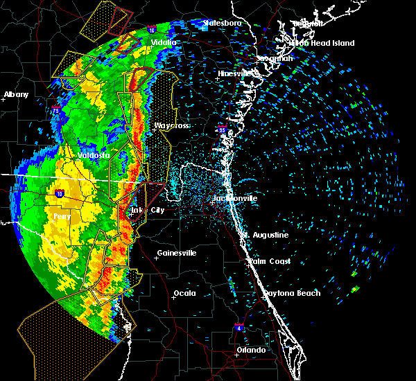 Radar Image for Severe Thunderstorms near Lake City, FL at 4/19/2019 10:59 AM EDT