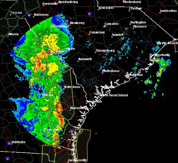 Radar Image for Severe Thunderstorms near Mendes, GA at 4/19/2019 12:02 PM EDT