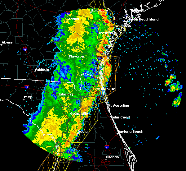 Radar Image for Severe Thunderstorms near Asbury Lake, FL at 4/19/2019 12:46 PM EDT