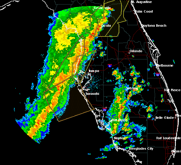 Radar Image for Severe Thunderstorms near Floral City, FL at 4/19/2019 12:53 PM EDT