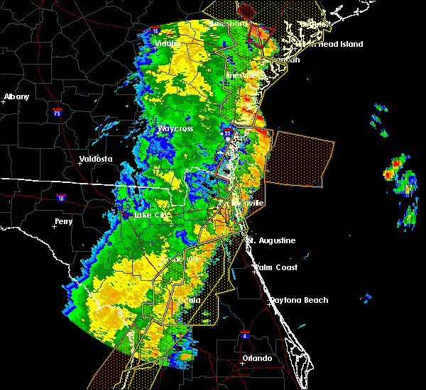 Radar Image for Severe Thunderstorms near Asbury Lake, FL at 4/19/2019 1:02 PM EDT