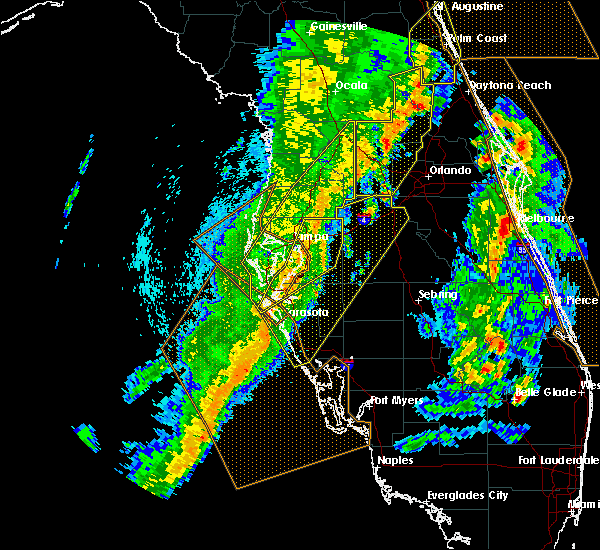 Radar Image for Severe Thunderstorms near Brandon, FL at 4/19/2019 2:16 PM EDT