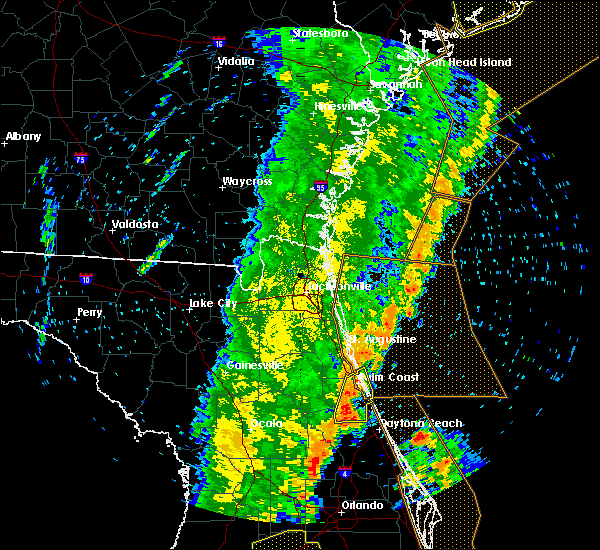 Radar Image for Severe Thunderstorms near Bunnell, FL at 4/19/2019 2:32 PM EDT