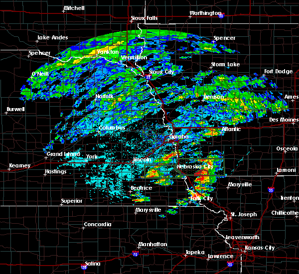 Radar Image for Severe Thunderstorms near Northboro, IA at 6/11/2015 3:37 PM CDT