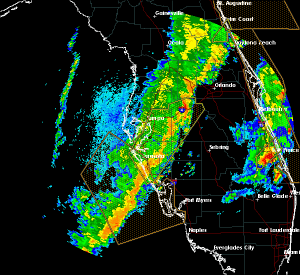 Radar Image for Severe Thunderstorms near Four Corners, FL at 4/19/2019 3:01 PM EDT