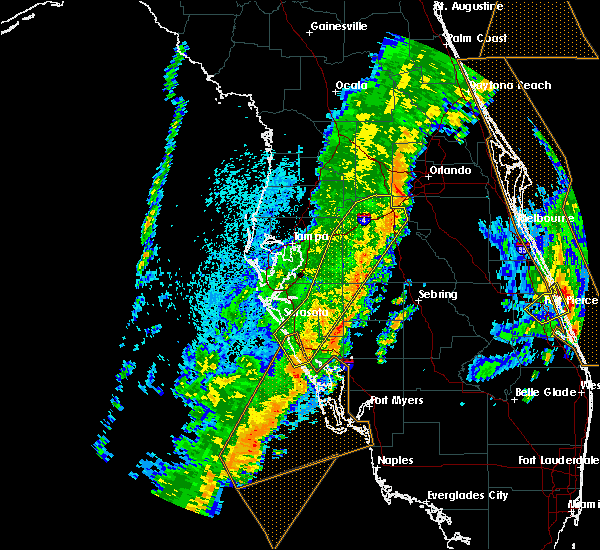 Radar Image for Severe Thunderstorms near Plant City, FL at 4/19/2019 3:27 PM EDT
