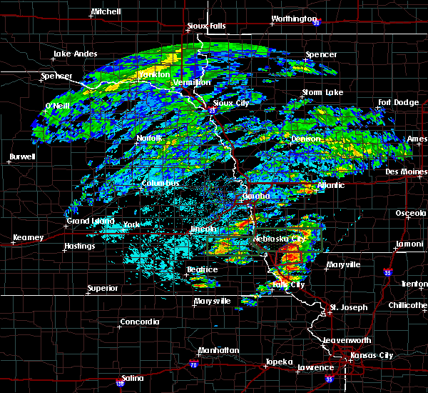 Radar Image for Severe Thunderstorms near Northboro, IA at 6/11/2015 3:50 PM CDT