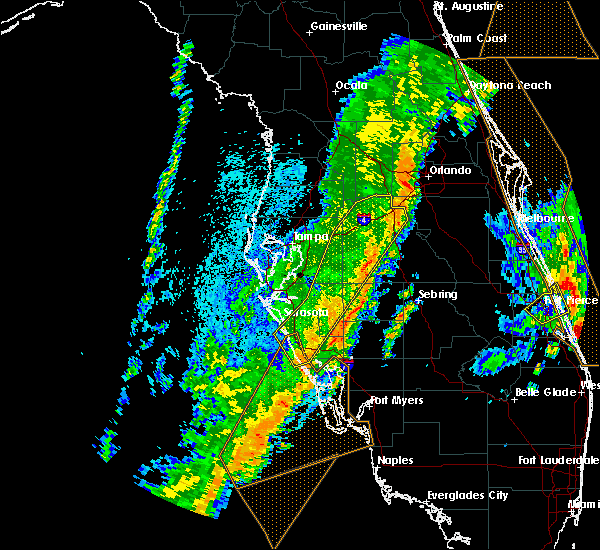 Radar Image for Severe Thunderstorms near Arcadia, FL at 4/19/2019 3:33 PM EDT