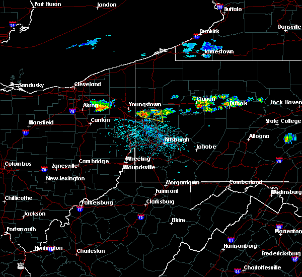 Radar Image for Severe Thunderstorms near West Pittsburg, PA at 6/11/2015 4:52 PM EDT