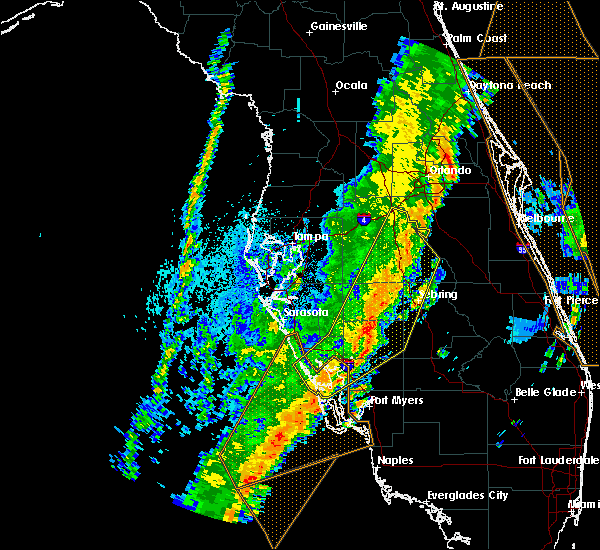 Radar Image for Severe Thunderstorms near Avon Park, FL at 4/19/2019 4:06 PM EDT