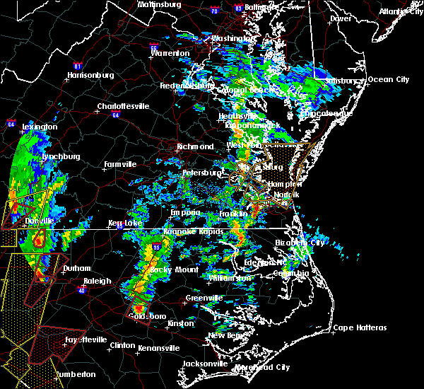 Radar Image for Severe Thunderstorms near Halifax, NC at 4/19/2019 4:12 PM EDT