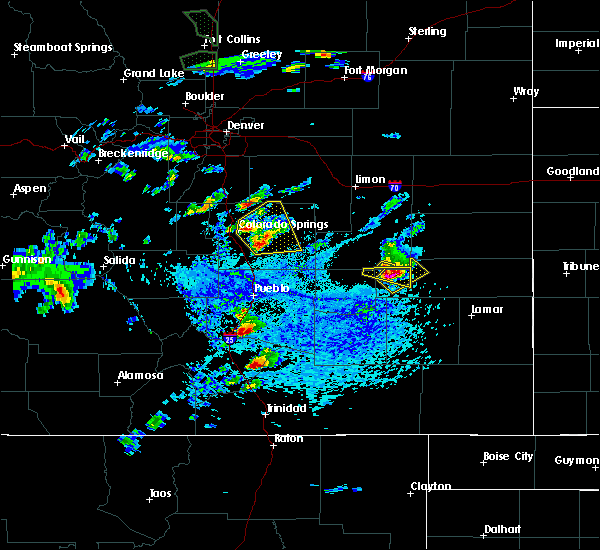 Radar Image for Severe Thunderstorms near Fountain, CO at 6/11/2015 3:00 PM MDT