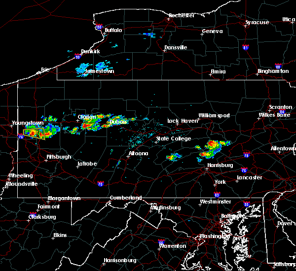 Radar Image for Severe Thunderstorms near Hummels Wharf, PA at 6/11/2015 5:03 PM EDT