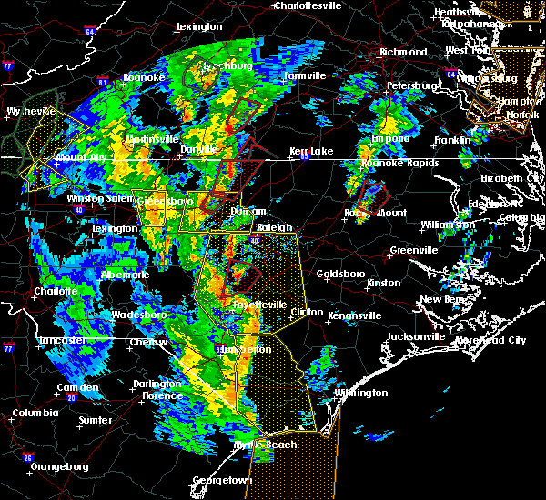 Radar Image for Severe Thunderstorms near Virgilina, VA at 4/19/2019 5:05 PM EDT