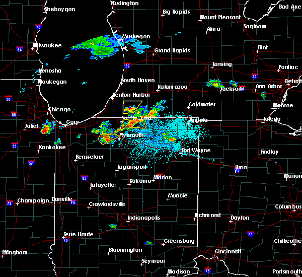 Radar Image for Severe Thunderstorms near Dunlap, IN at 6/11/2015 5:07 PM EDT