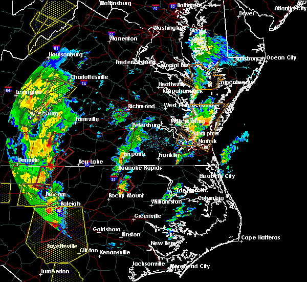 Radar Image for Severe Thunderstorms near Halifax, NC at 4/19/2019 5:14 PM EDT