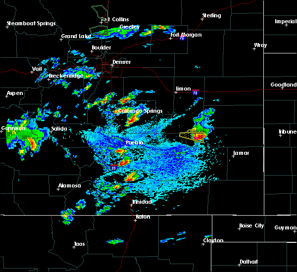 Radar Image for Severe Thunderstorms near Security-Widefield, CO at 6/11/2015 3:12 PM MDT