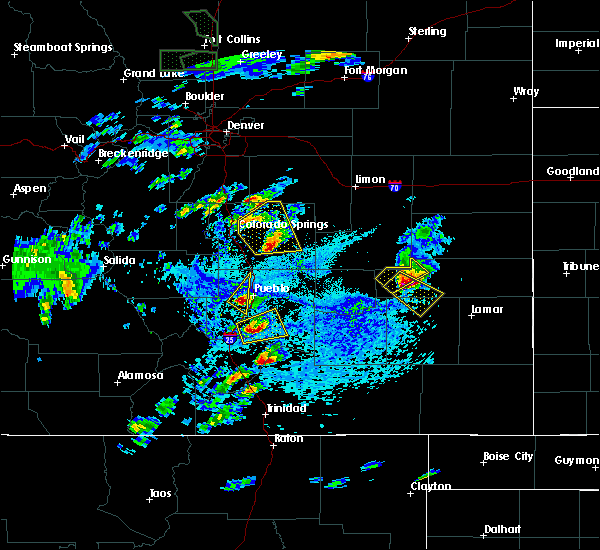 Radar Image for Severe Thunderstorms near Ellicott, CO at 6/11/2015 3:21 PM MDT