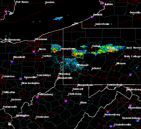 Radar Image for Severe Thunderstorms near Chicora, PA at 6/11/2015 5:26 PM EDT