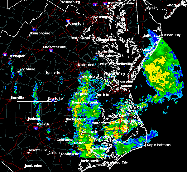 Radar Image for Severe Thunderstorms near Columbia, NC at 4/20/2019 2:02 AM EDT