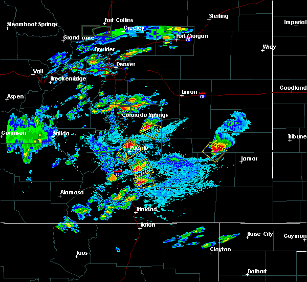 Radar Image for Severe Thunderstorms near Wiley, CO at 6/11/2015 3:56 PM MDT