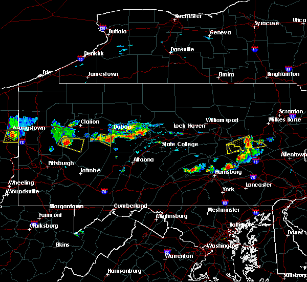 Radar Image for Severe Thunderstorms near Westover, PA at 6/11/2015 5:59 PM EDT