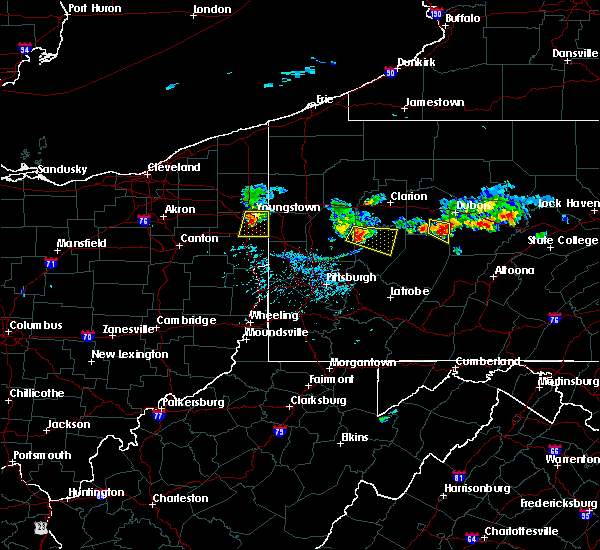 Radar Image for Severe Thunderstorms near Kittanning, PA at 6/11/2015 5:58 PM EDT