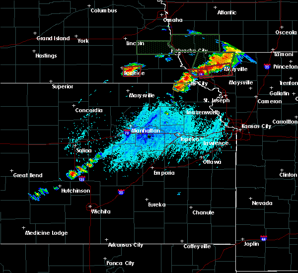 Radar Image for Severe Thunderstorms near Morrill, KS at 6/11/2015 5:00 PM CDT